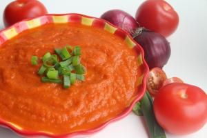 Heerlijke verse tomatensaus!